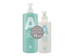 Interapothek Pack gel baño 750ml + loción 400ml para pieles atópicas
