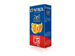 CONTROL FINISIMO 2EN1 PRESERVA+LUBRIC 6U